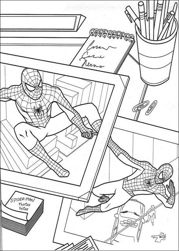 Coloriage Spiderman (6)