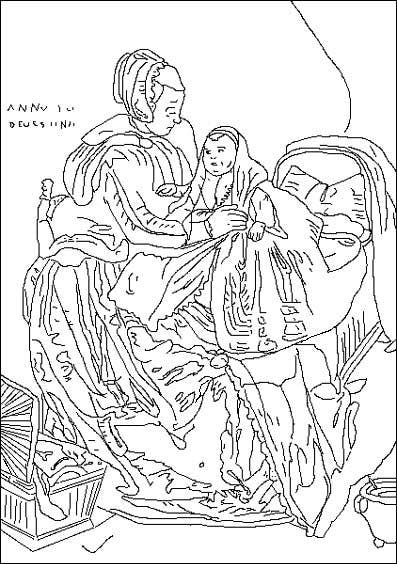 Coloriage thomas hendricksz de keyser 1596 97 1667 - Coloriage thomas ...
