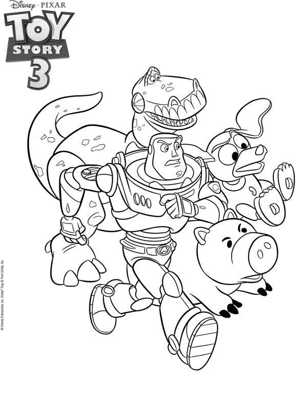 Coloriage toy story 2 - Coloriage de toy story 3 ...
