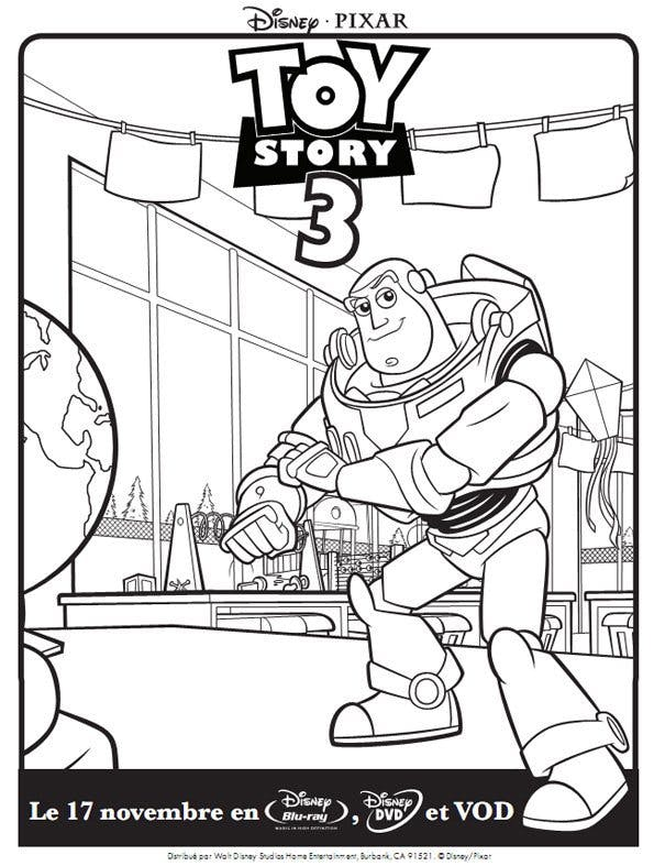 Coloriage toy story 5 - Coloriage toy story 3 ...