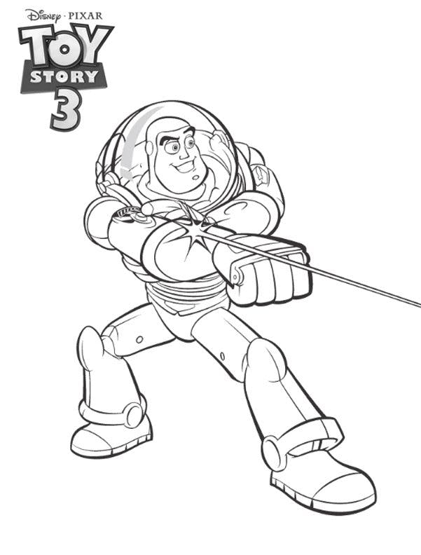 Coloriage toy story buzz l 39 clair - Coloriage buzz ...