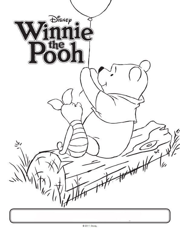 Coloriage Winnie l\'ourson 11 - Momes.net