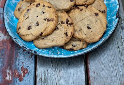 Cookies aux pépites de chocolat et noix de Carlotta