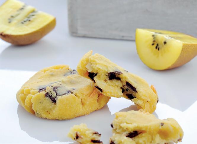 recette cookie au kiwi