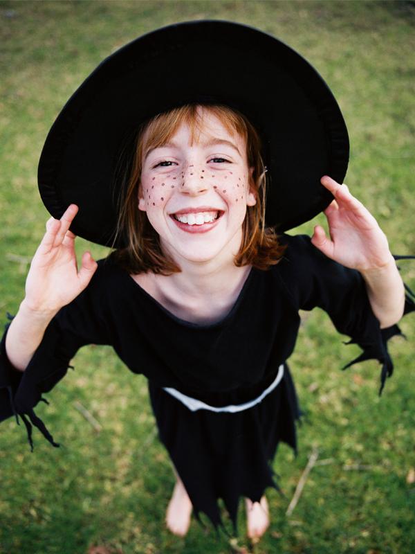 déguisement de sorcière à faire soi-même