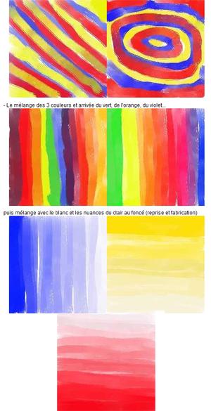 couleur en maternelle