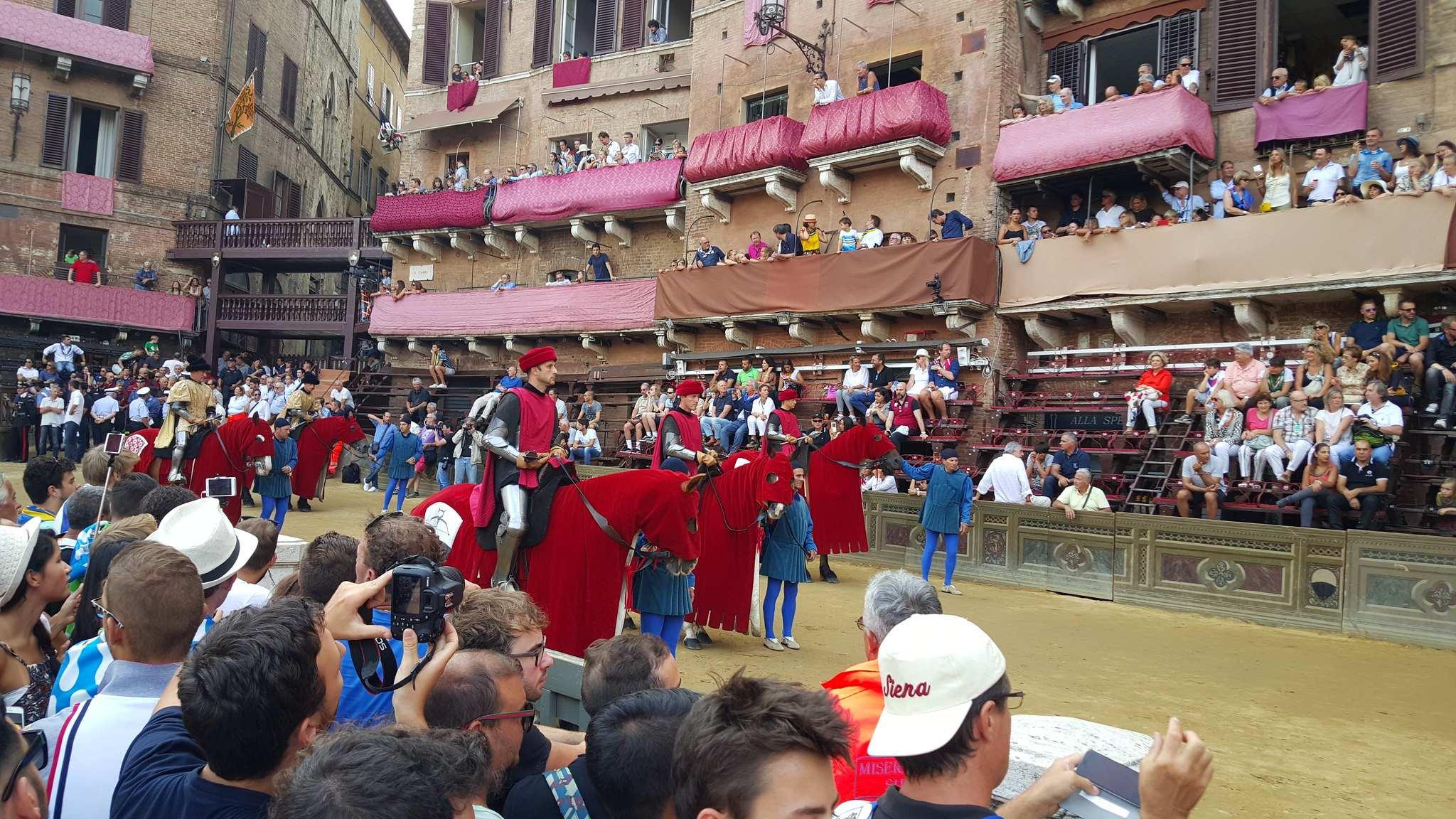 Course du Palio à Sienne