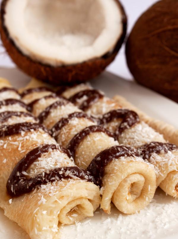 Crêpes à la noix de coco