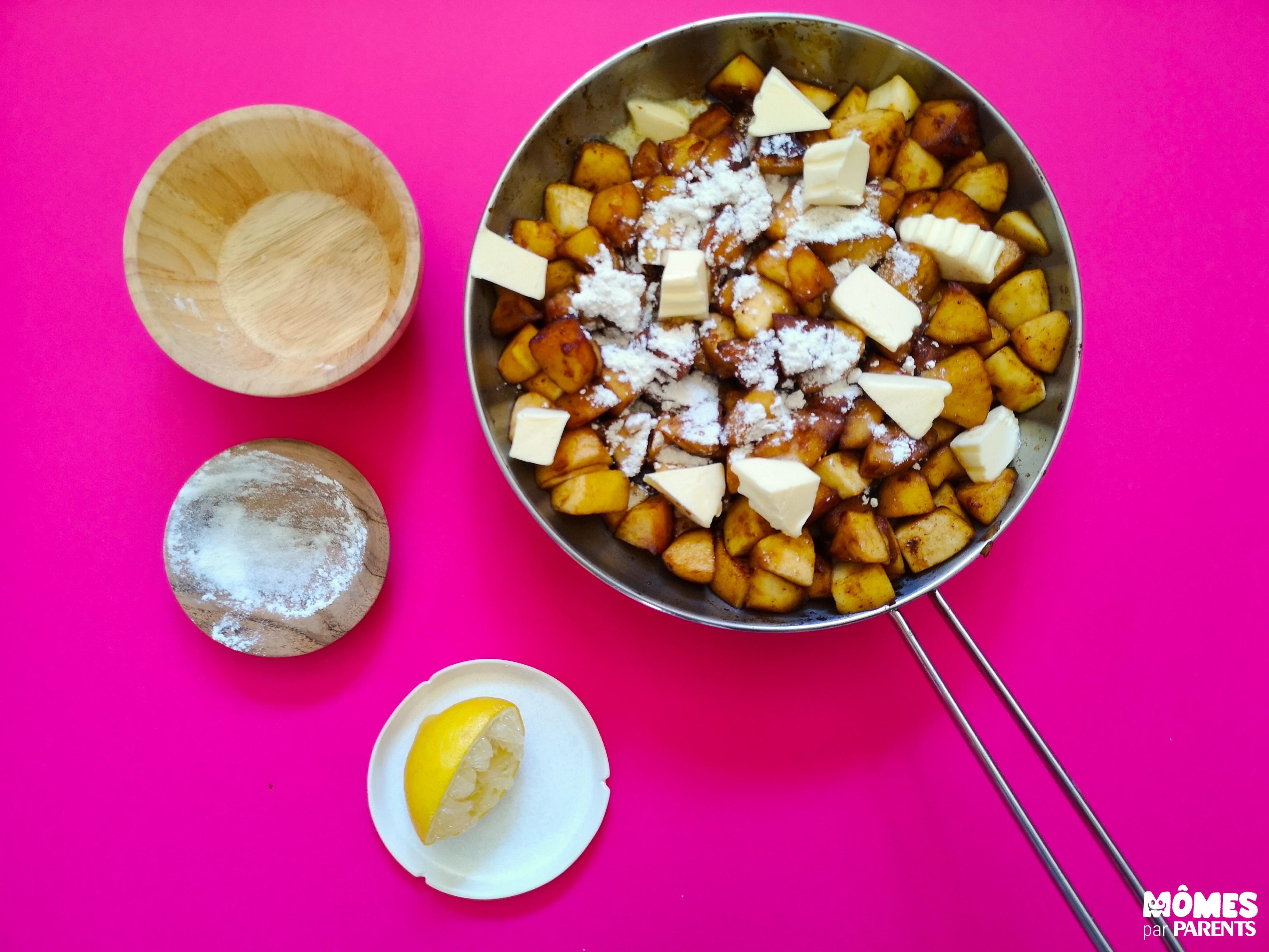 cuisson pommes apple pie