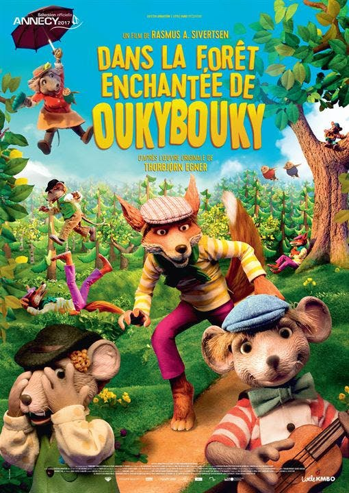 Dans la forêt enchantée de Oukybouky - affiche
