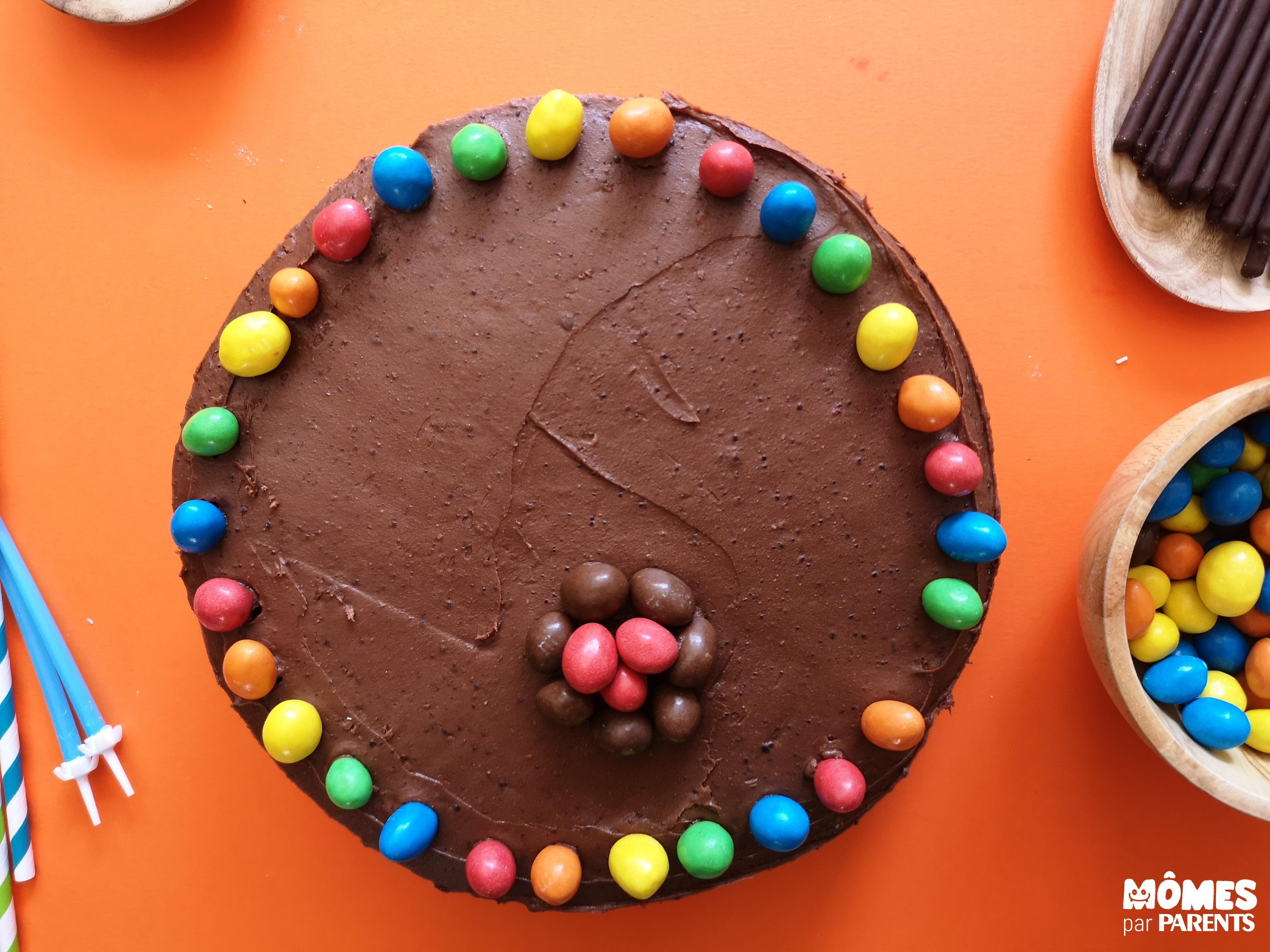 décor gâteau indien step 1