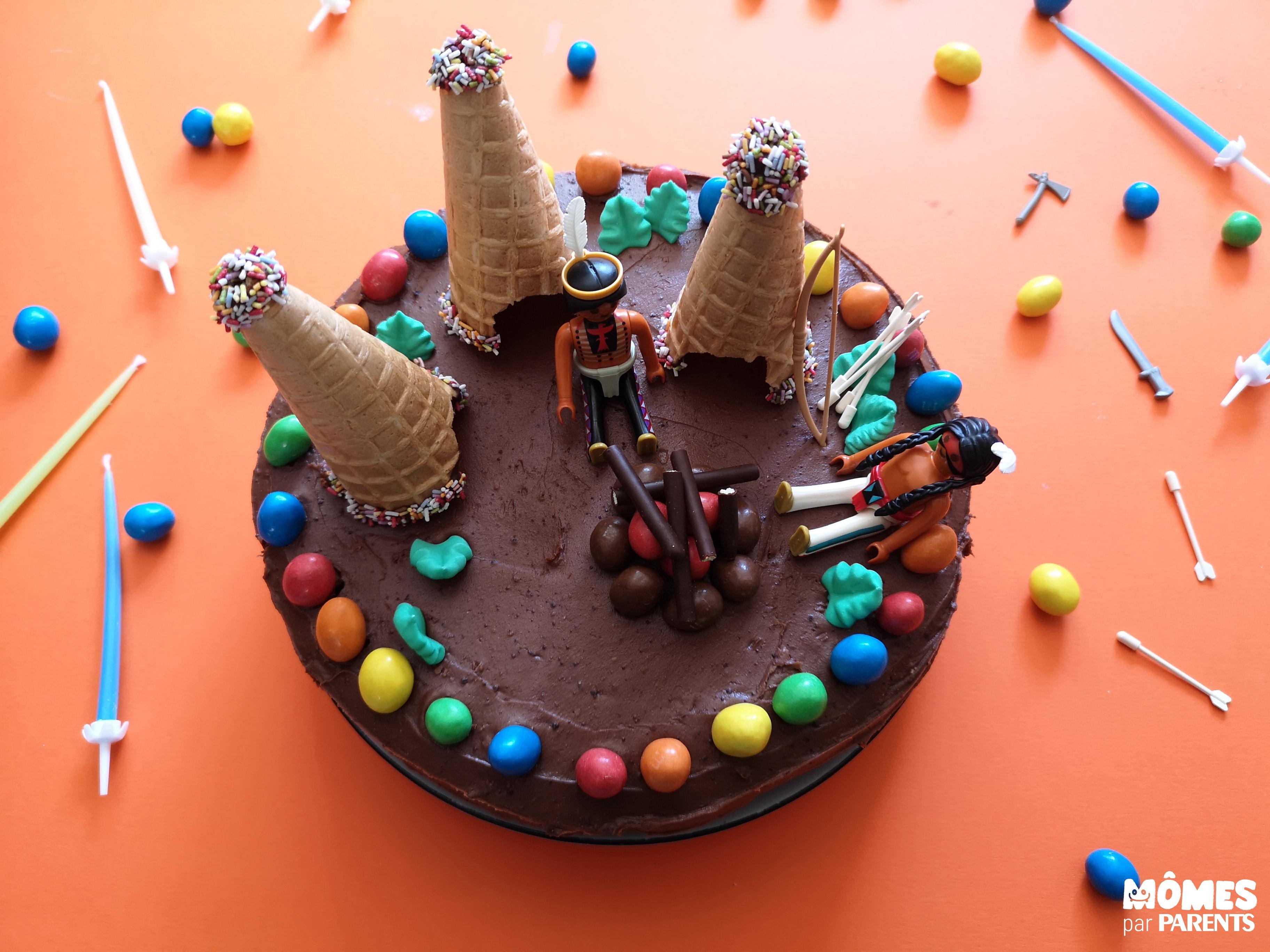 décor gâteau indien step 2