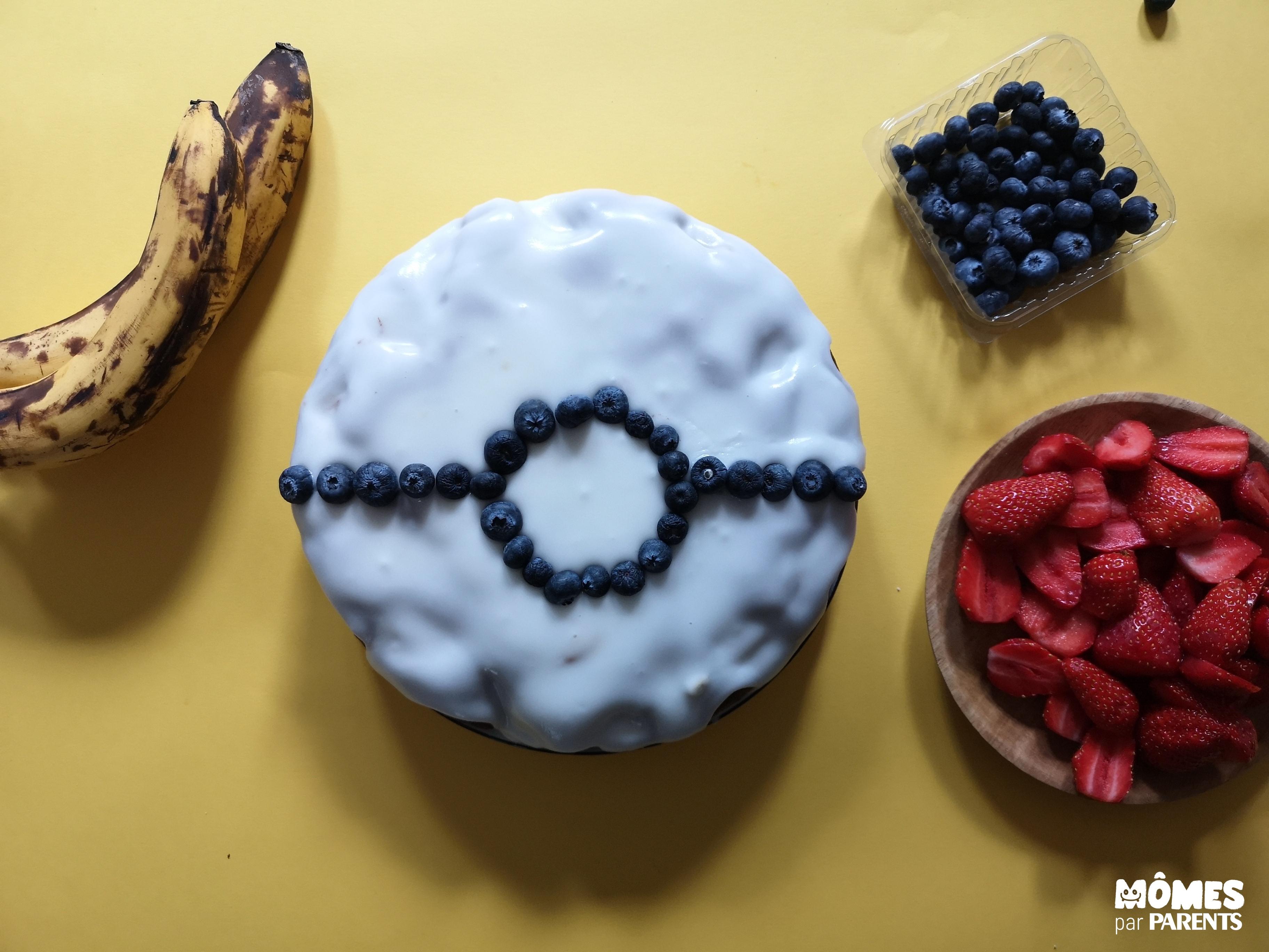 décor Pokemon cake