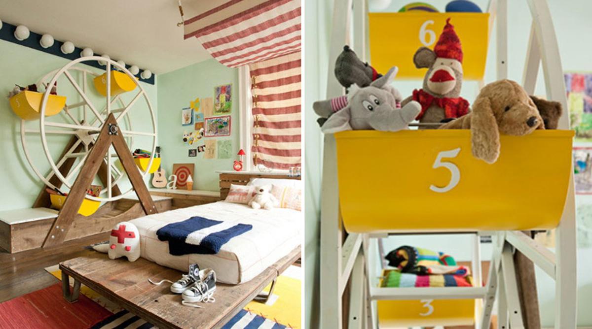 Décoration de chambre d'enfant les plus dingues