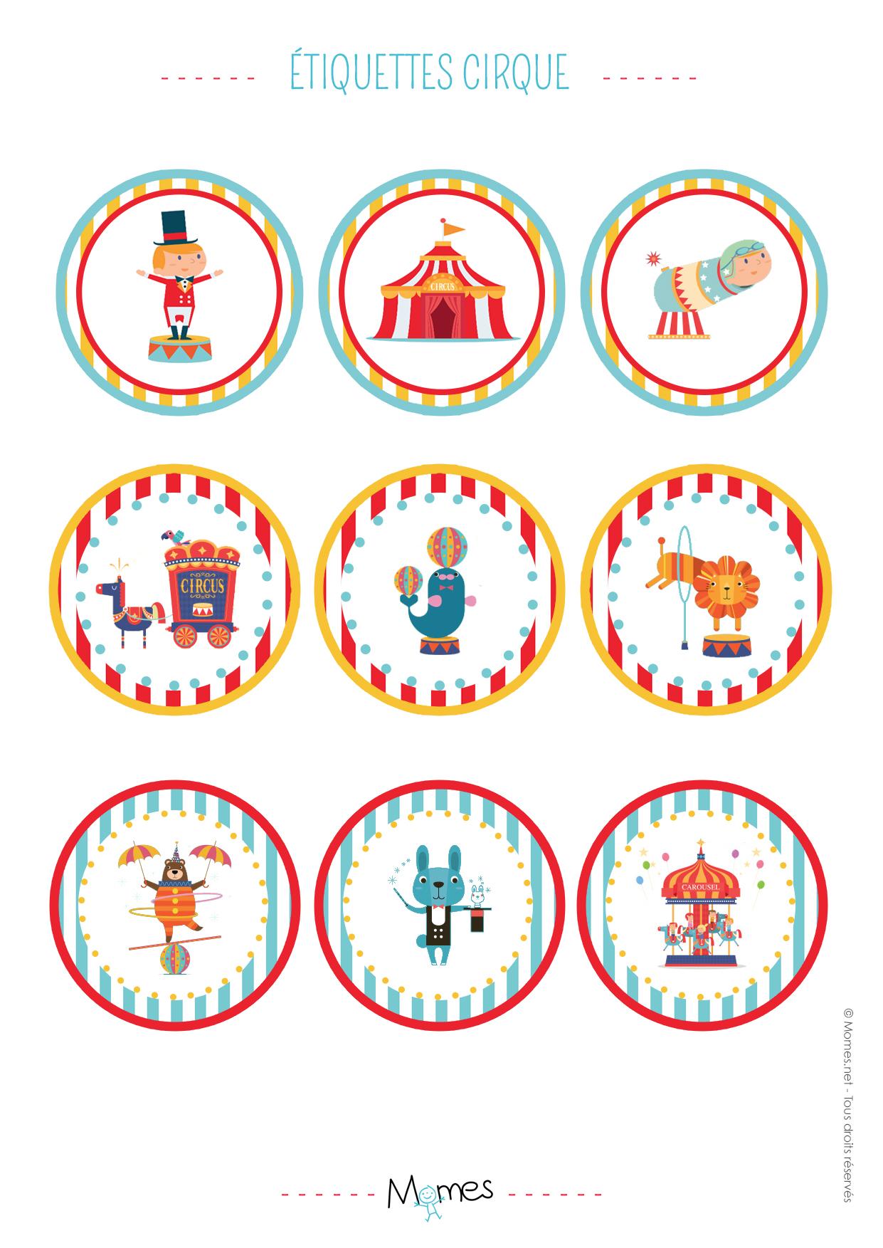 décoration gateau cirque