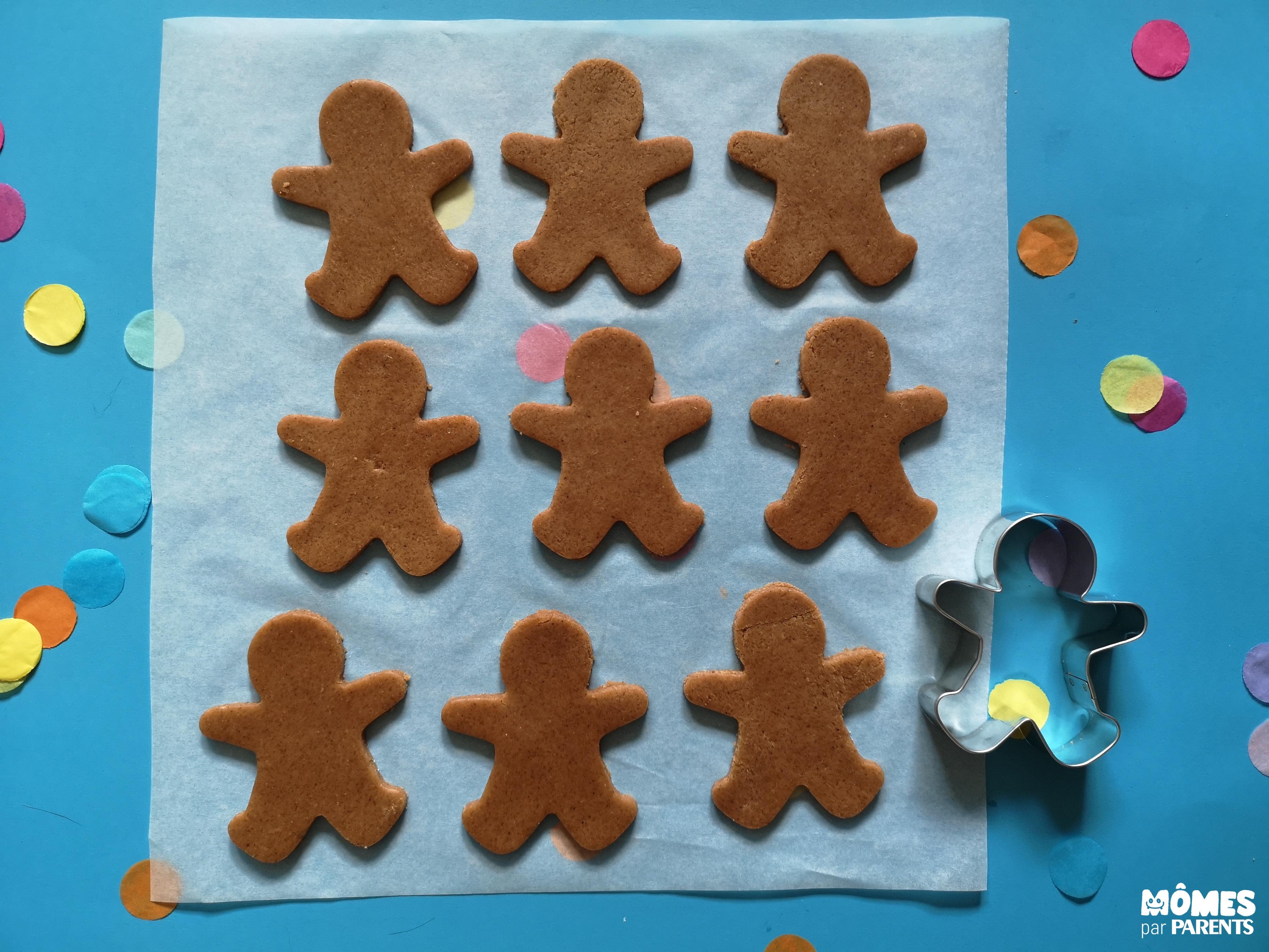 découpage pâte a gingerbread
