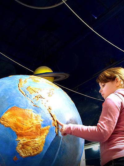 L'astronomie au Palais de la Découverte