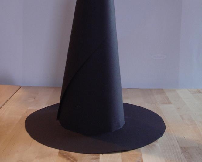vaste sélection vente discount couleurs et frappant Costume d'Halloween: le chapeau de sorcière - Momes.net