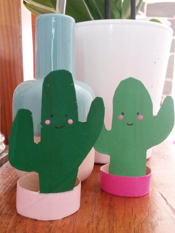 Des cactus rigolos