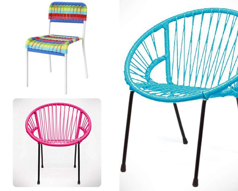 Des chaises scoubidou - Chaise scoubidou vintage ...