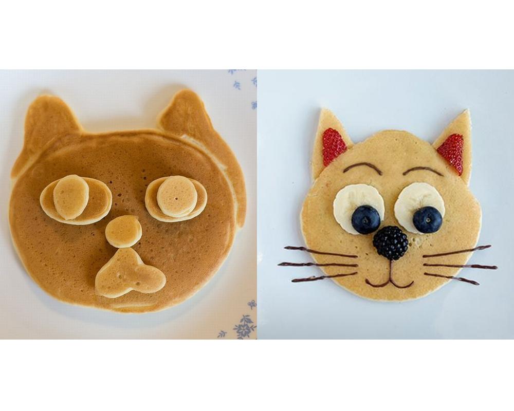 crêpes rigolotes chats chandeleur mardi gras carnaval