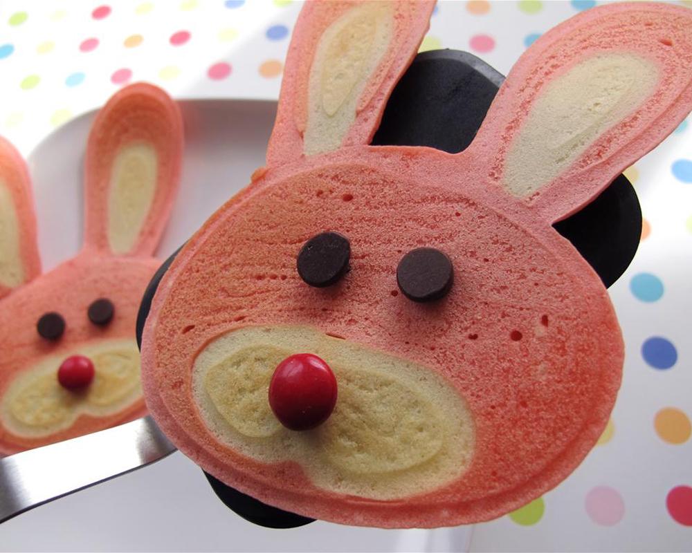 crêpes rigolotes lapins chandeleur