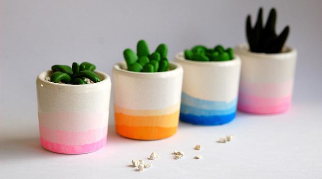 petits pots tie and dye