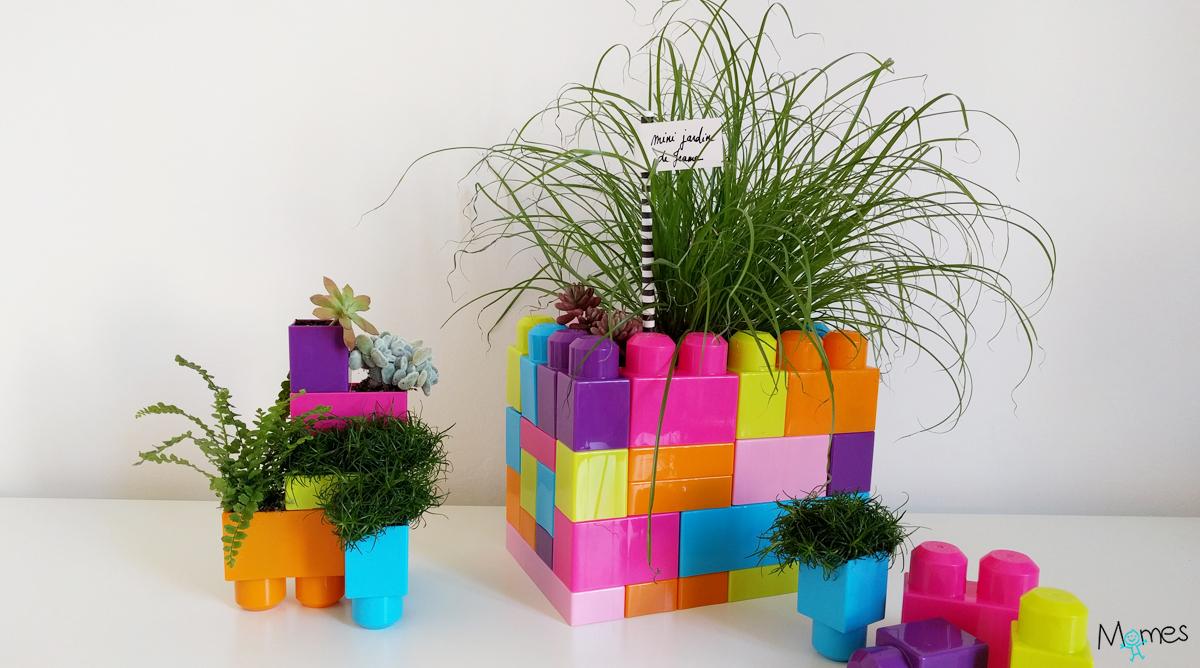 Des Pots De Fleurs En Briques Jouet Momes Net