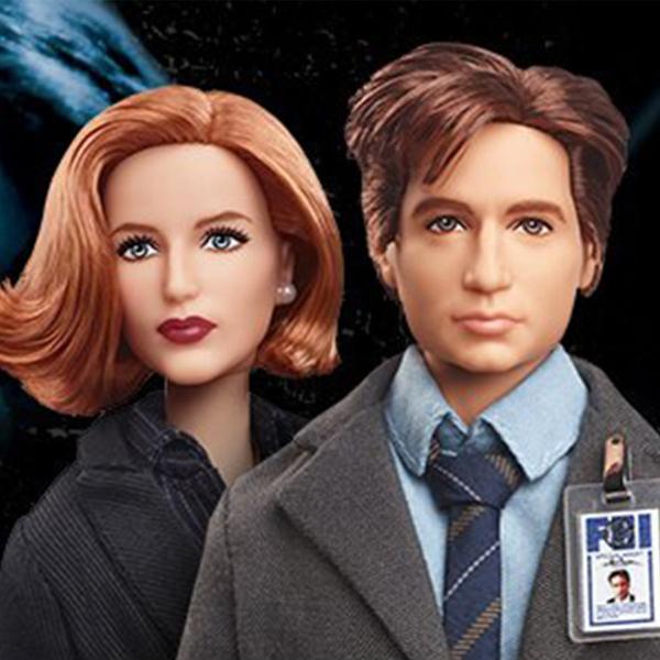 Des poupées Barbie pour fêter les 25 ans de la série X-Files