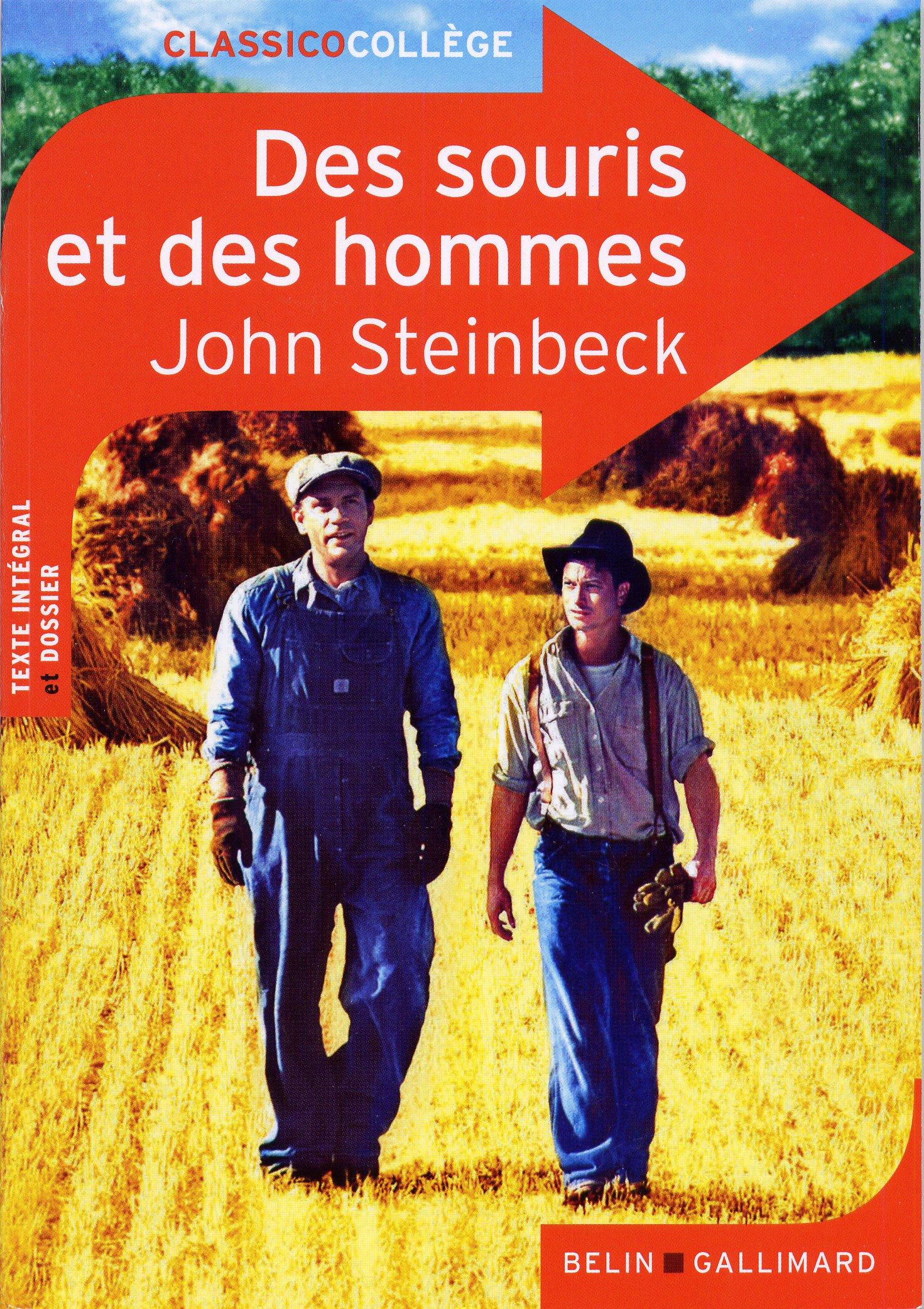 Des souris et des hommes, Steinbeck
