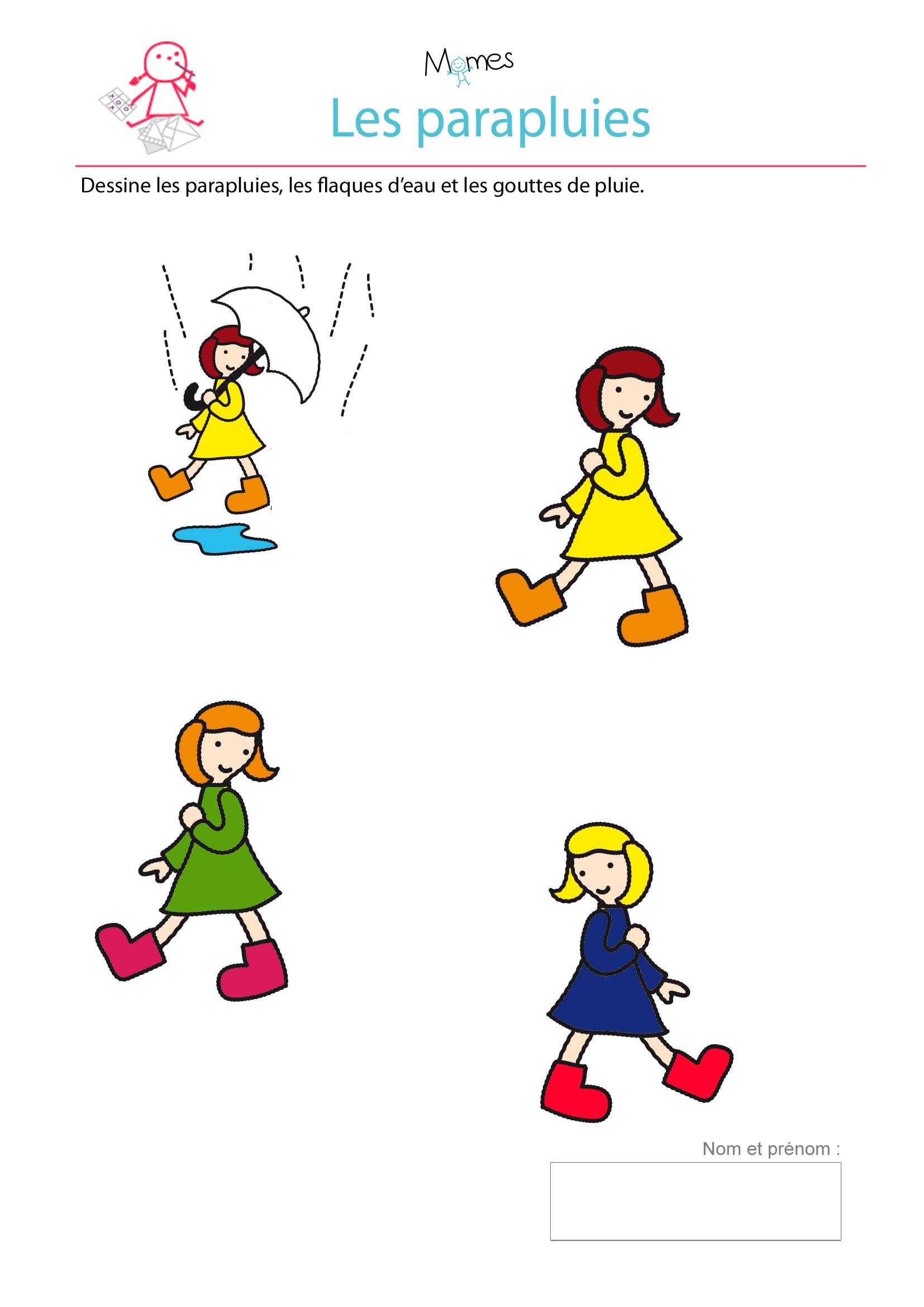 parapluie exercice