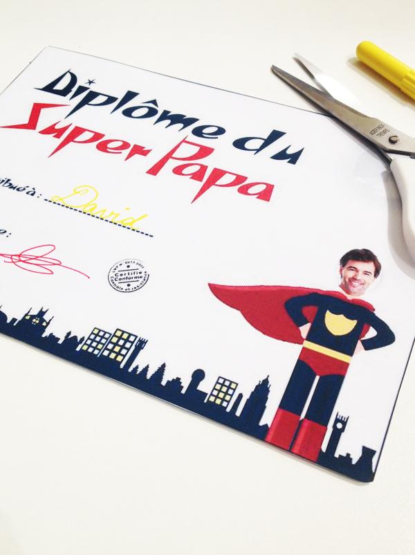 Diplome de super papa - Diplome du super papa a imprimer gratuit ...