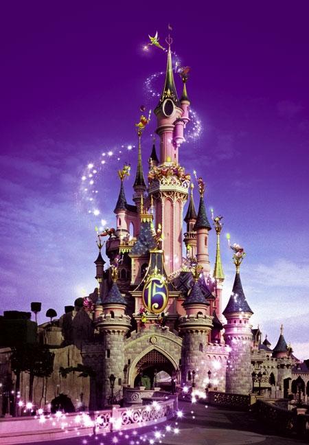 Affiche Disneyland Paris