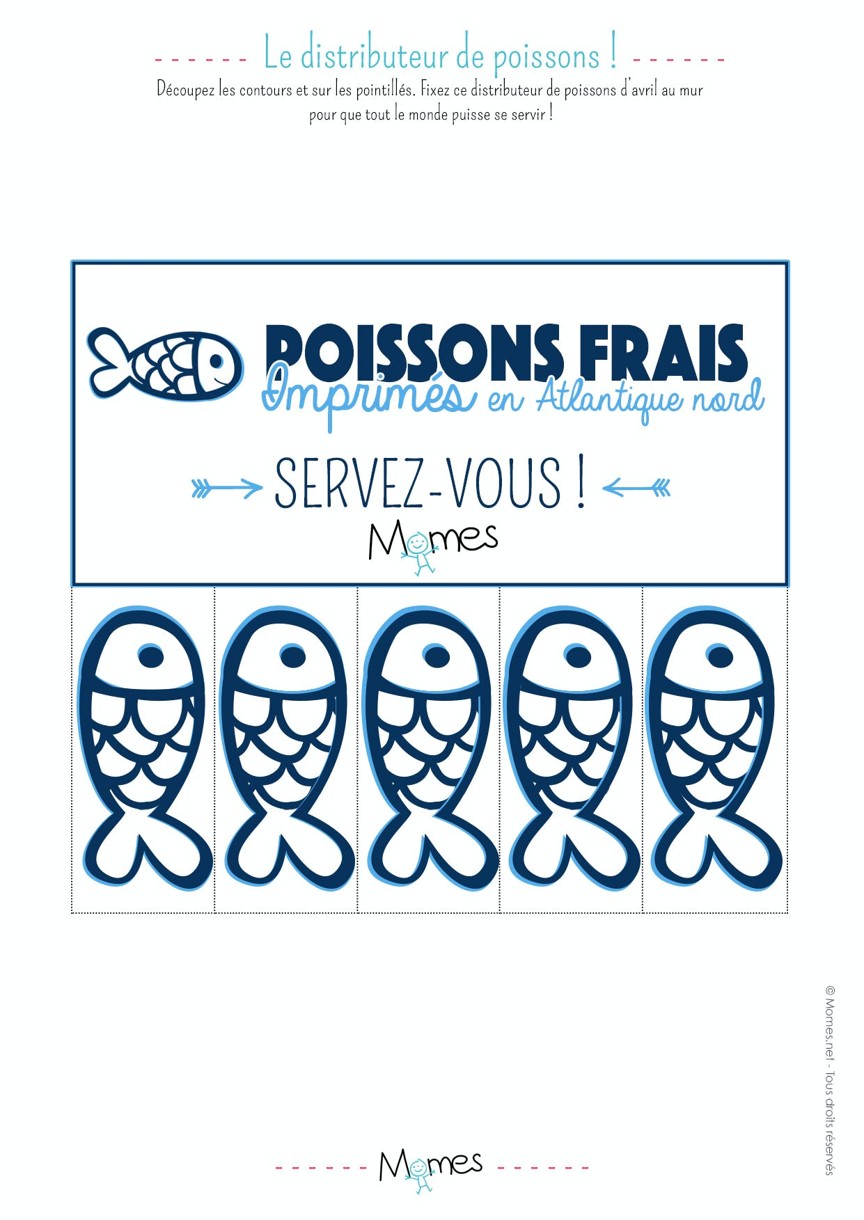 distributeur poisson avril