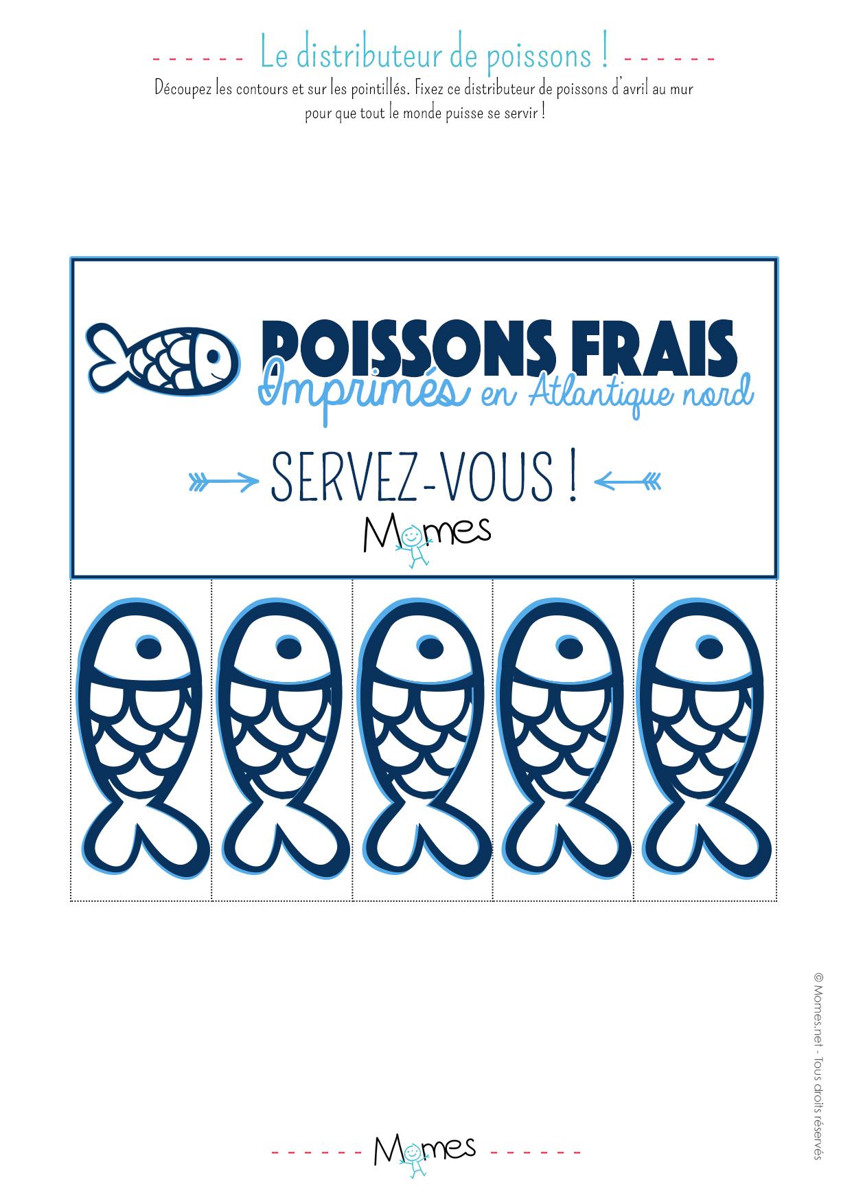 Distributeur de poissons d 39 avril for Distributeur poisson