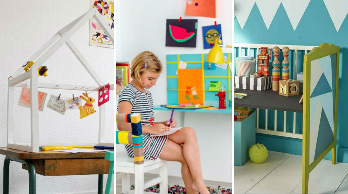 DIY : 10 bureaux pour enfant incroyables