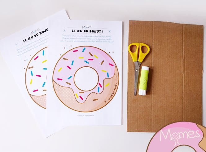 donut à imprimer