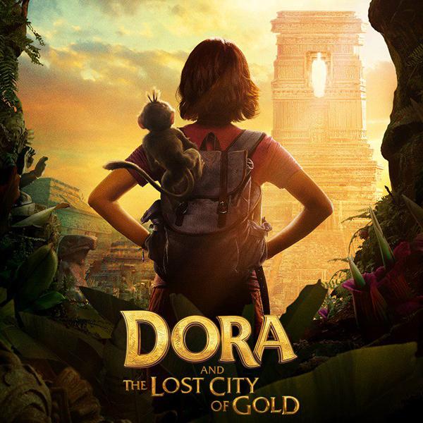 Dora l'exploratrice et la cité perdue film live-action bande annonce affiches