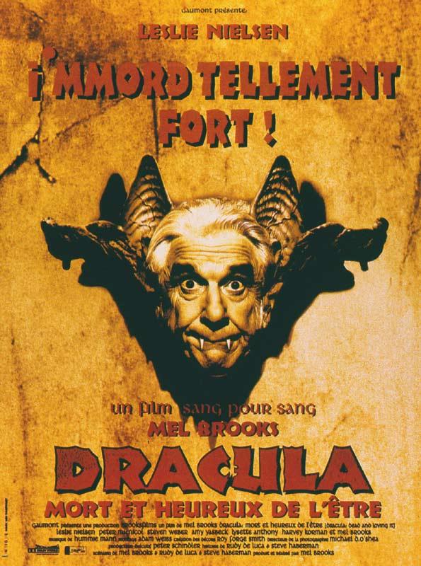 Affiche Dracula mort et très heureux