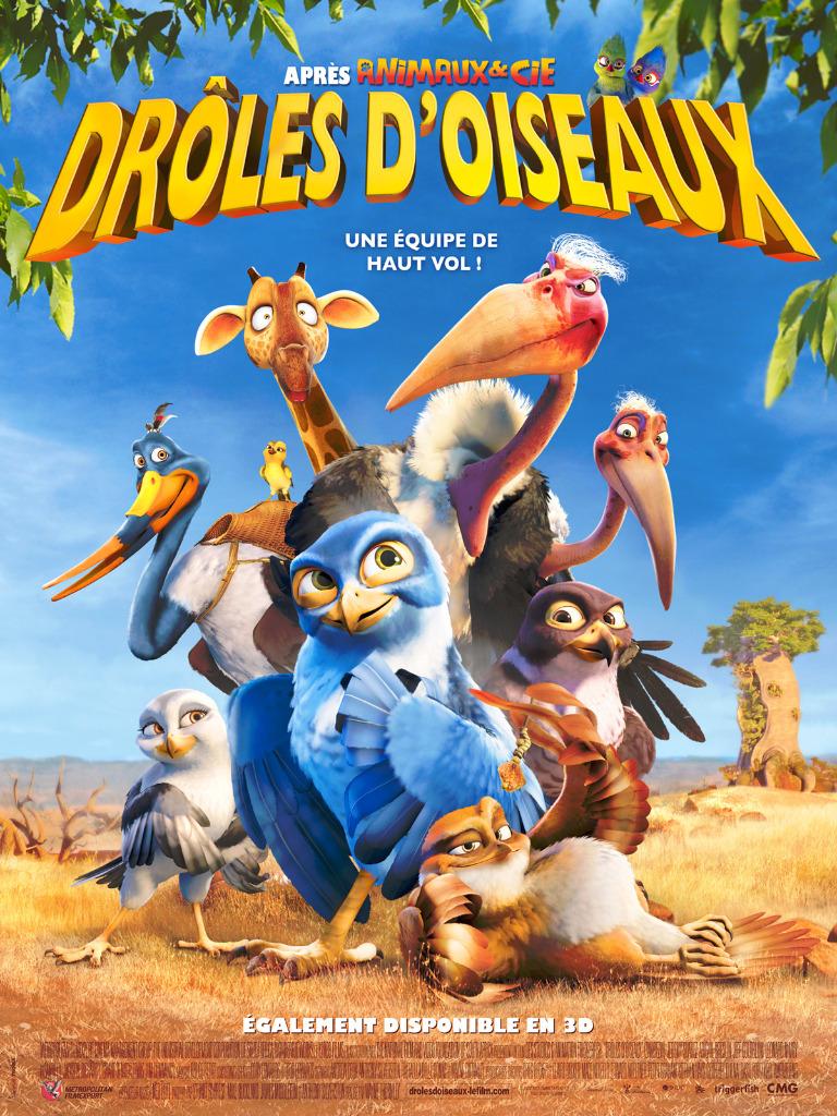 Affiche Drôles d'oiseaux