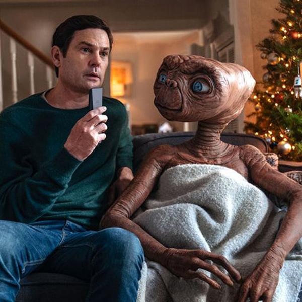 ET l'extraterrestre elliott retrouvailles pub noel 37 ans après film original spielberg