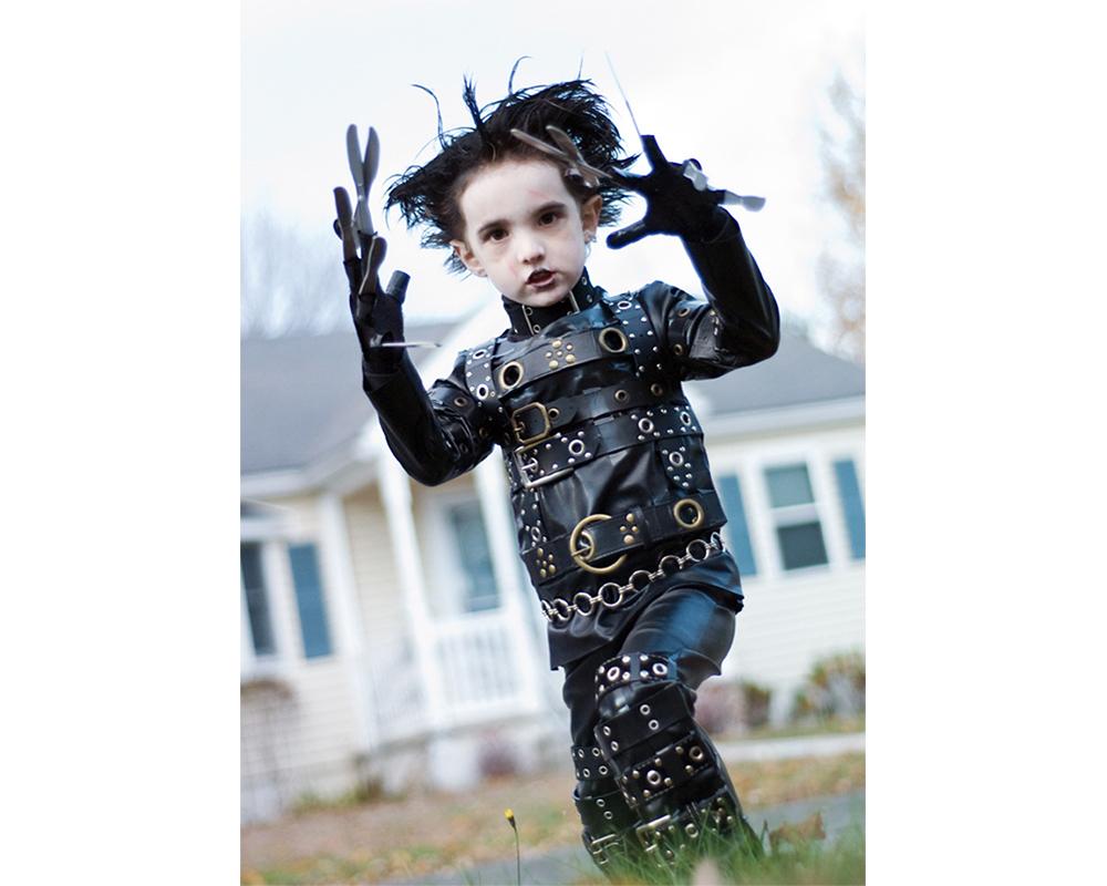 Edward aux mains d'argent déguisements halloween pour enfants