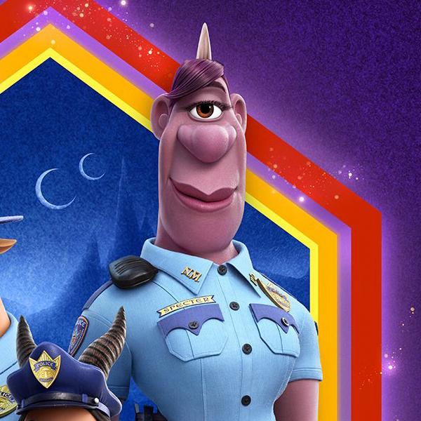 En Avant Disney Pixar personnage LGBT officier de police Specter