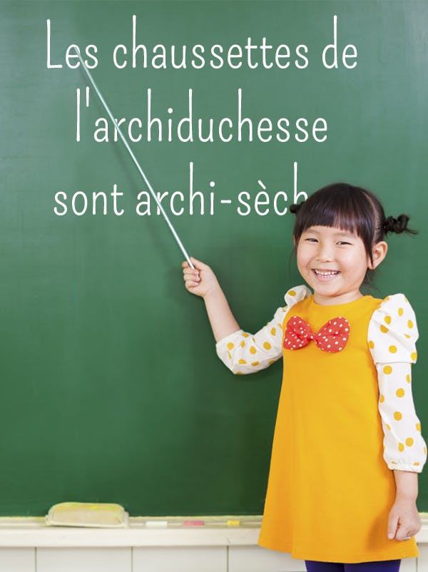 Exercice de diction : s-ch et z-j - Momes.net