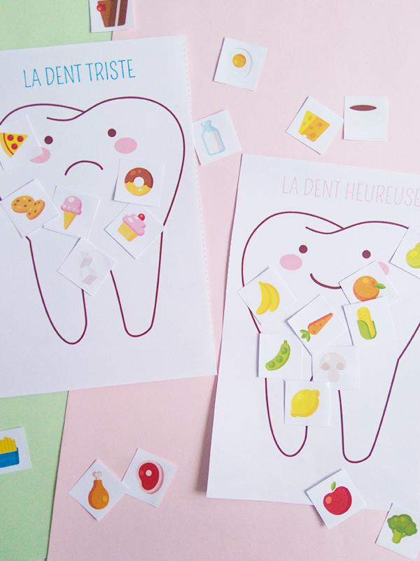 Exercice : les aliments et les dents