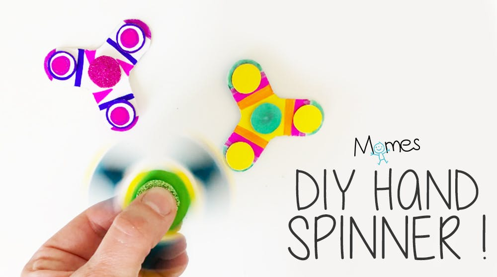 diy hand spinner
