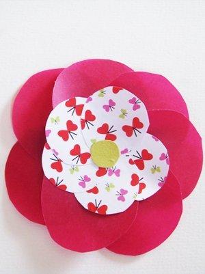 fabriquer une broche fleur