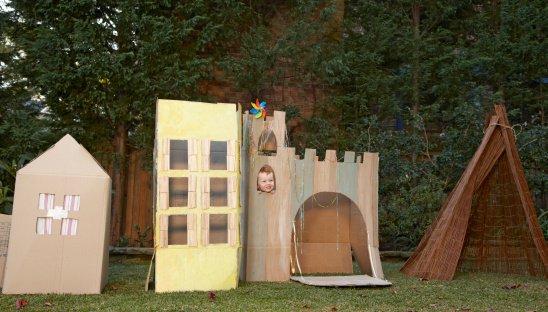 fabriquer une cabane. Black Bedroom Furniture Sets. Home Design Ideas