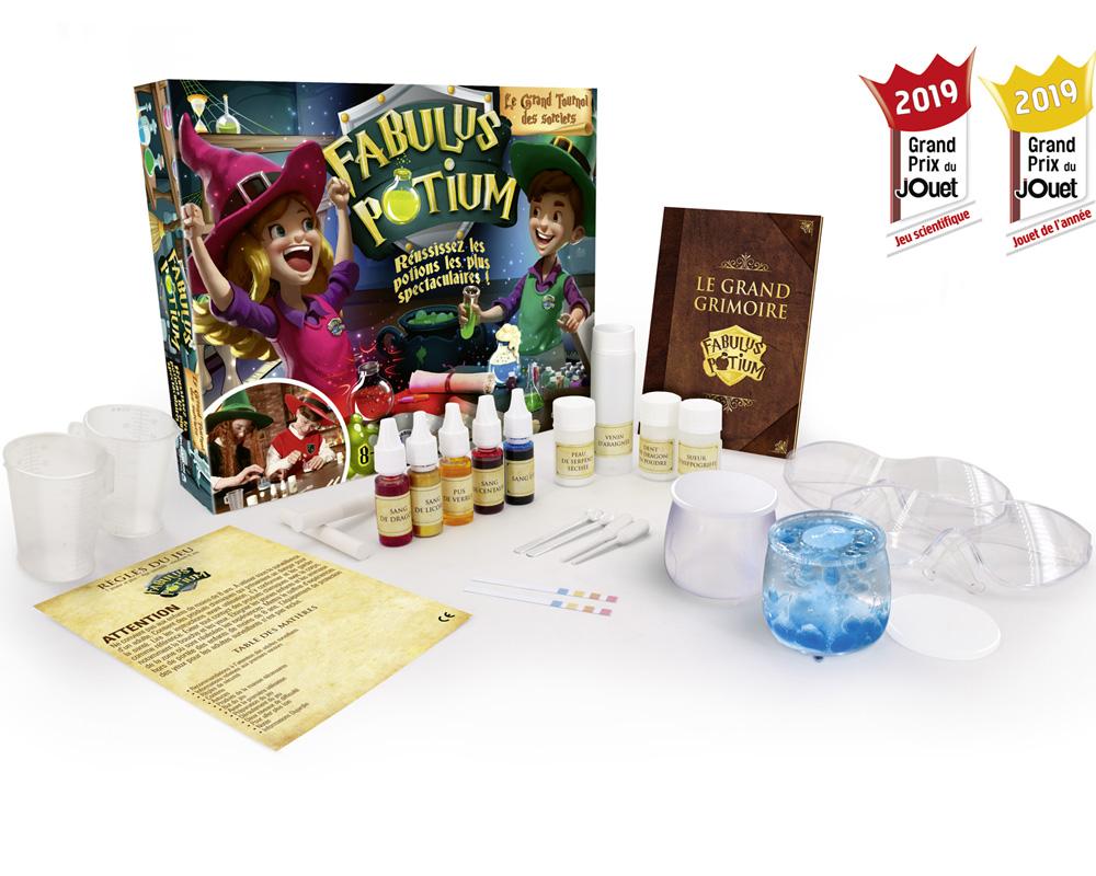 meilleurs cadeaux Noël 2019 enfants DIY Fabulus Potium