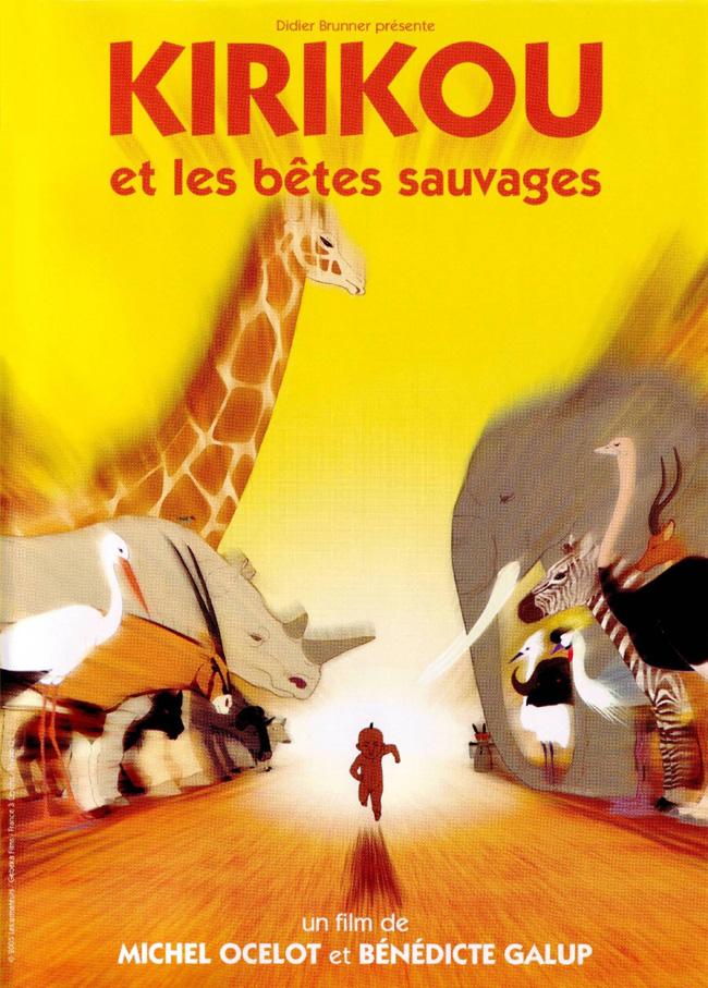 Affiche Festival de Cannes : Kirikou et la Séance des enfants